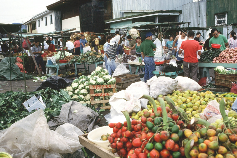 San Jose Costa Rica Food Market